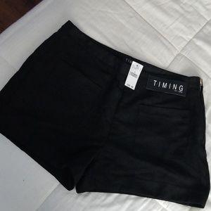 Wet Seal black shorts